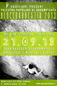 Bloccoabbestia 2013