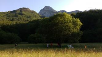 campeggio alle Rocchette